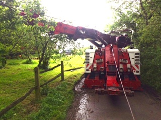 winching job west sussex